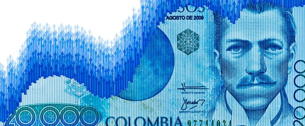 Image of Colombian peso bill