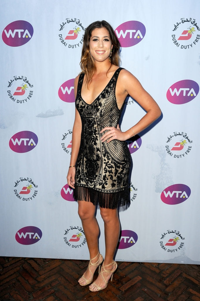 Garbiñe Muguruza Wimbledon Party