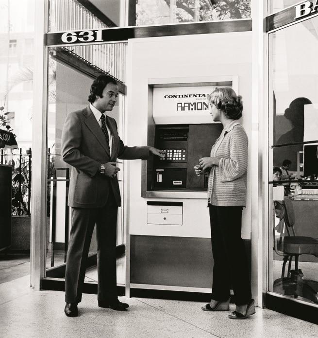 First ATM Peru BBVA Banco Continental