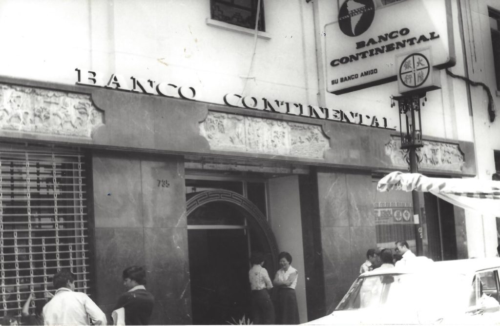 Picture of Office Chinese District BBVA Continental