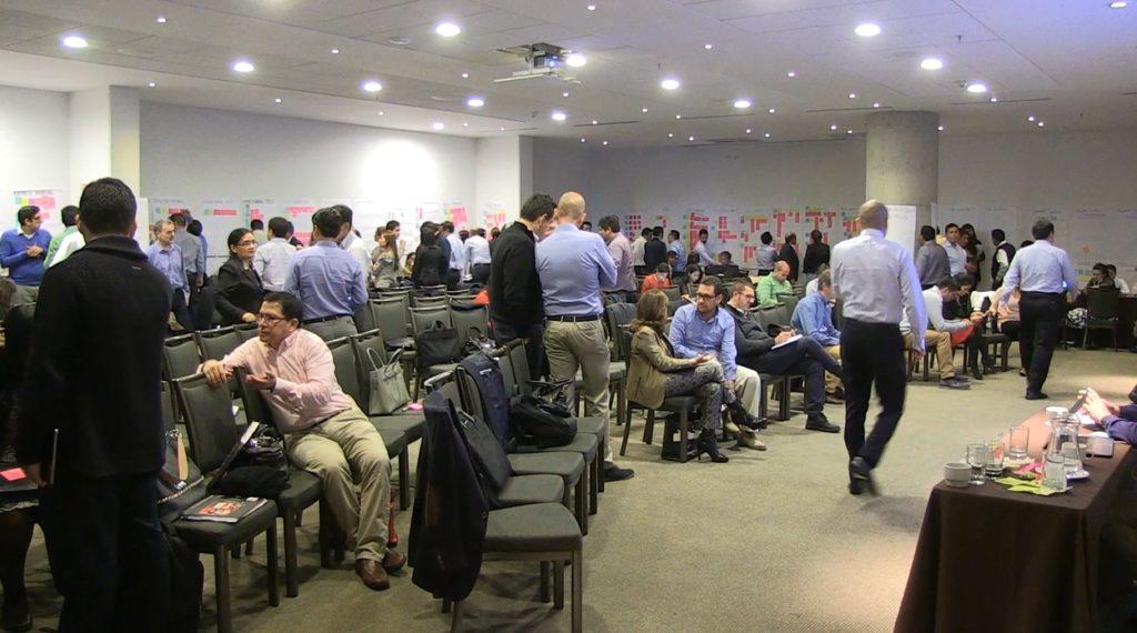 Image of Second quarterly planning of BBVA Continental June 2016 Lima, agile, scrum