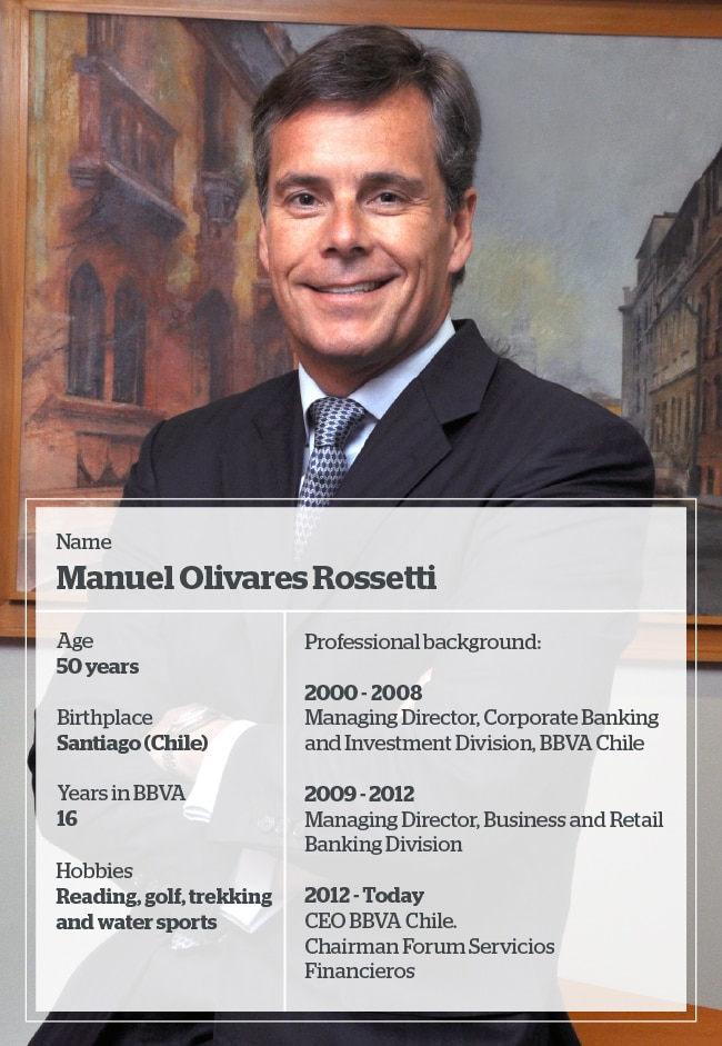 Picture of Manuel Olivares Rossetti Country Manager Chile BBVA
