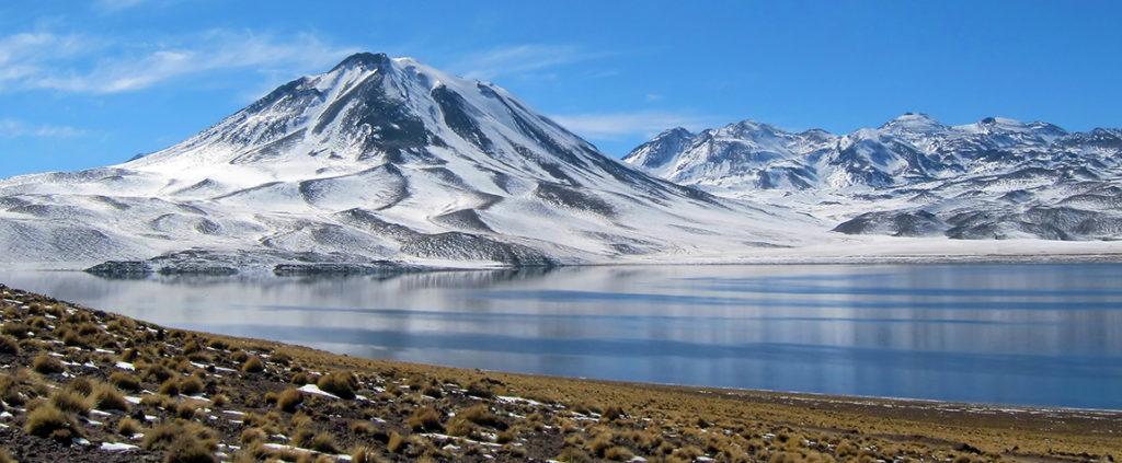 Picture of Snow lake landscape San Pedro de Atacama Chile resource BBVA