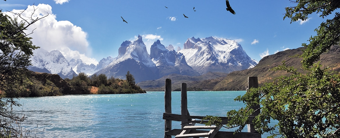 Picture of Snow lake landscape nature Torres del Paine Chile resource BBVA