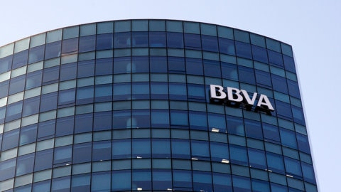 BBVA tower in Chile
