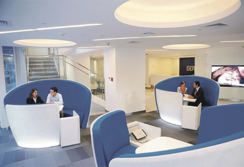 Picture of Branch premium office inside BBVA