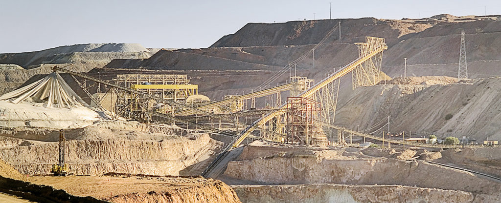 Picture of productivity mines work Chile BBVA