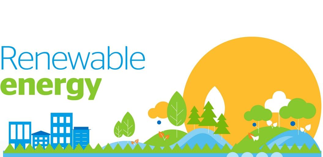 Infographics: renewable energy