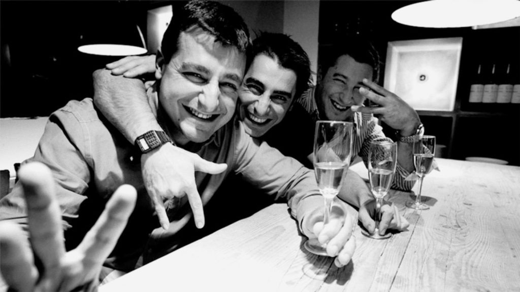 Picture of the roca brothers three Michelin stars El Celler de Can Roca