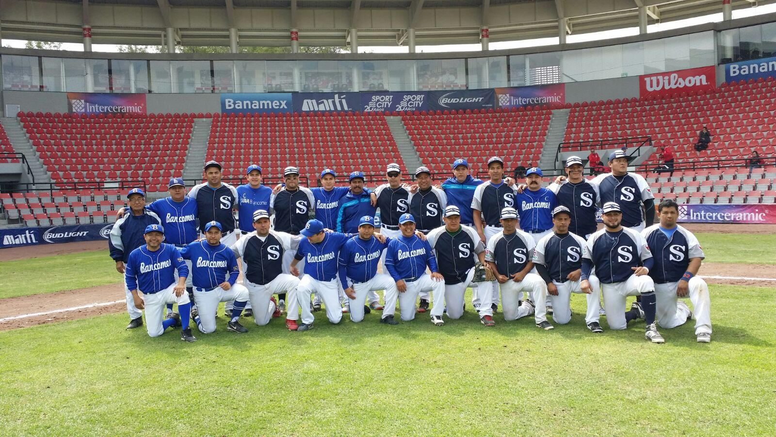 Picture of baseball team sport BBVA Bancomer