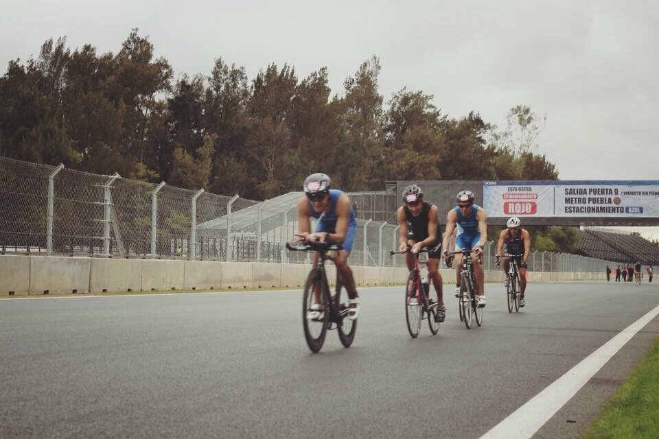 Picture of Cycling at the World Corporate Games BBVA Bancomer