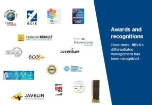 BBVA awards and recognitions 4Q16