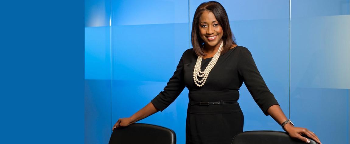 BBVA Compass Chief Talent & Culture Executive Rosilyn Houston.