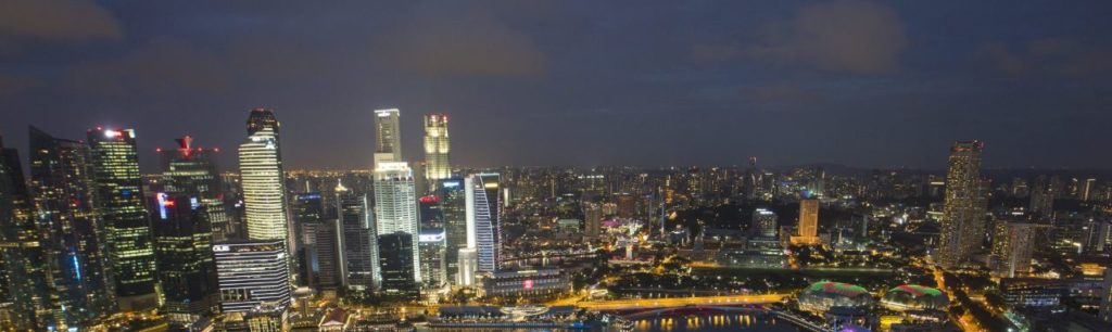 Picture of the skyline in Singapur BBVA