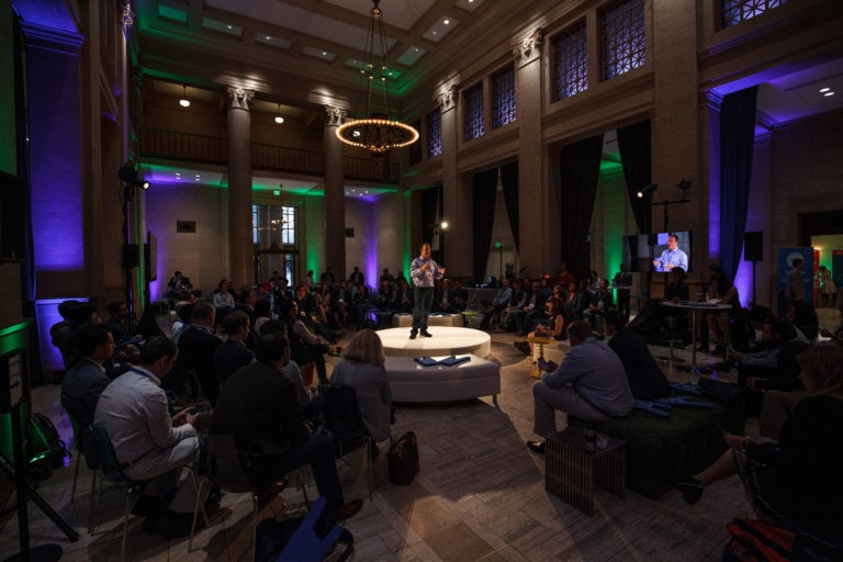 A photo of Propel Venture Partners' Ryan Gilbert at San Francisco's Bently Reserve.