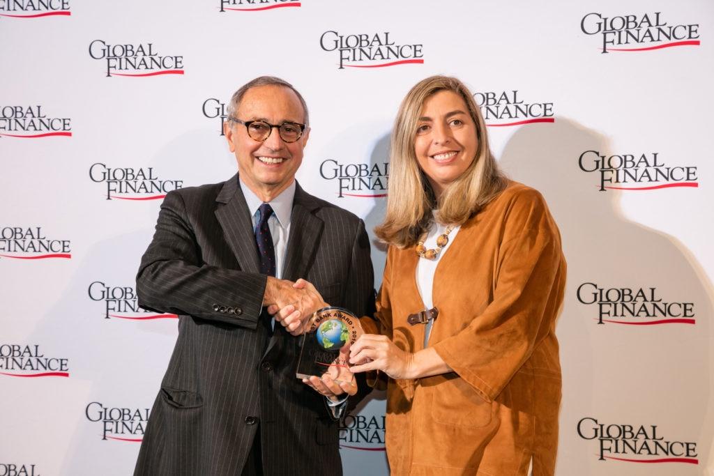 Eva Piera in Global Finance Best Banks Awards 2016