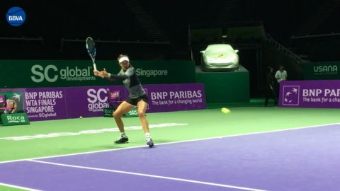 Garbiñe Muguruza in Singapore Thumbnail