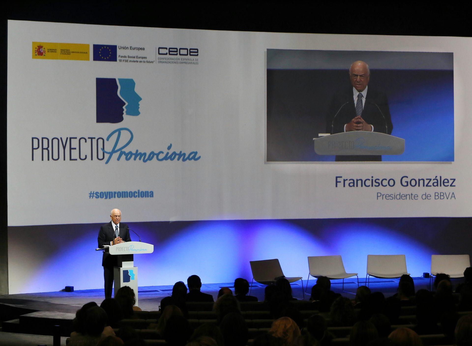 Queen Letizia Ortiz, Francisco González, Encuentro Promociona
