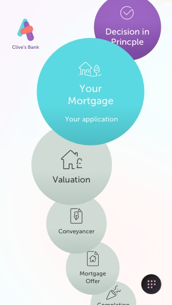 Atom app mortgage page