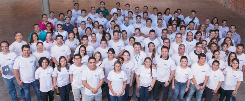 BBVA Paraguay team