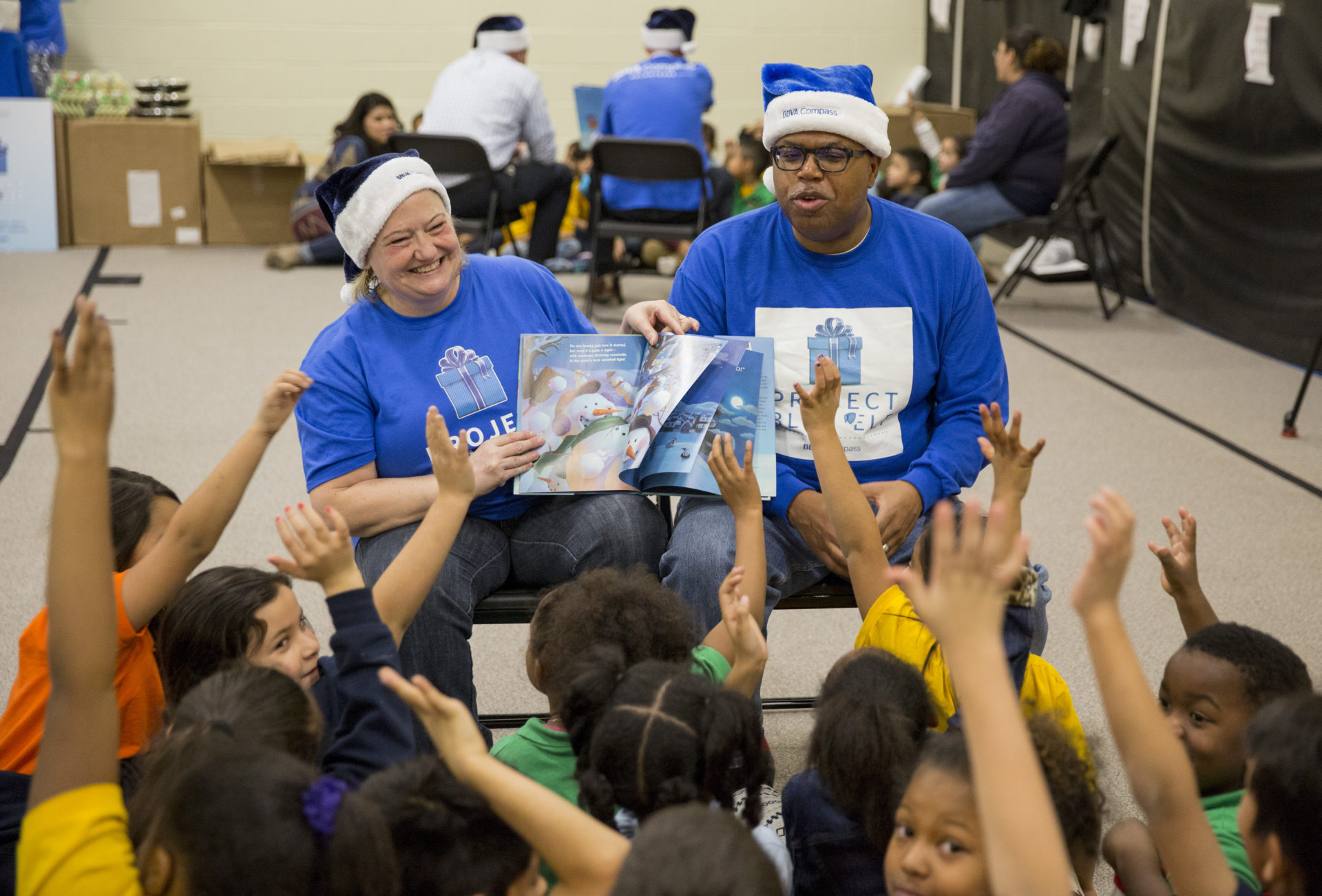 Denver's Project Blue Elf event in 2016