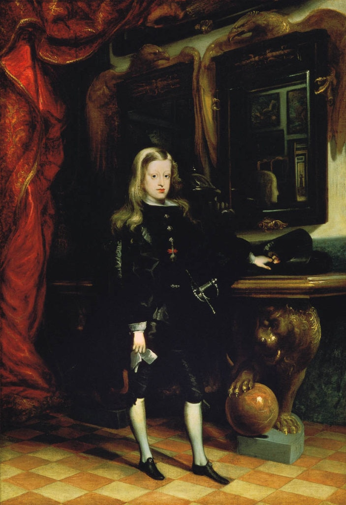 Picture of Charles II portrait BBVA Collection