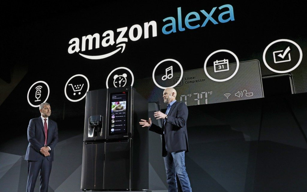 Alexa LG presentation CREDIT PHOTO: LG NEWSROOM