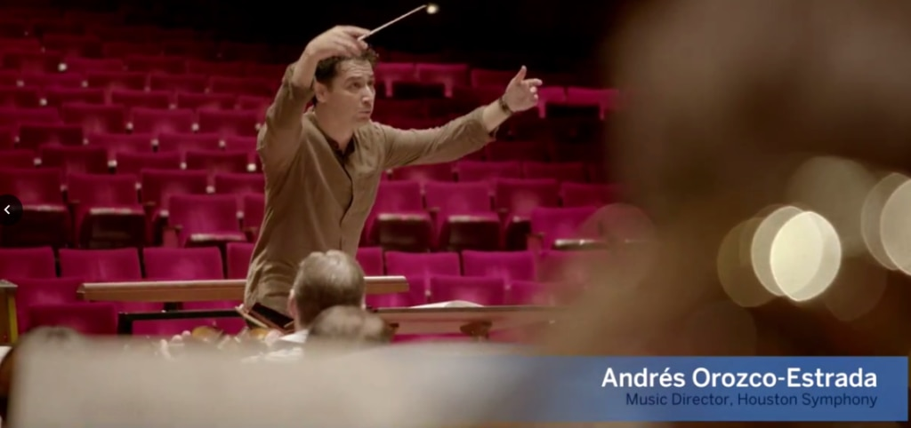 Andres took part in BBVA Compass' new ad campaign