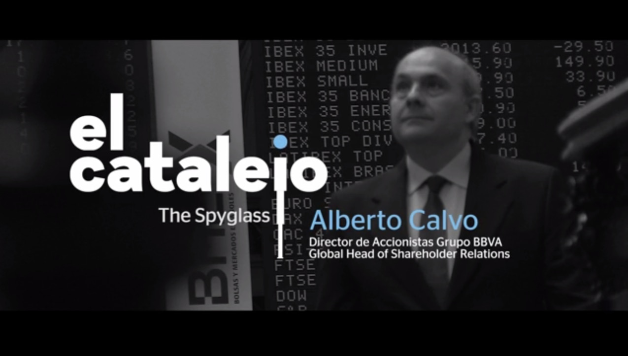 Alberto Calvo, global head of shareholder relations at BBVA