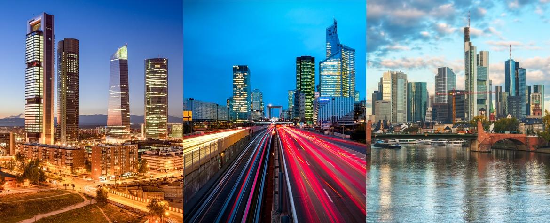 European financial cities