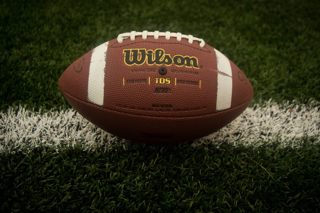 An image of a football