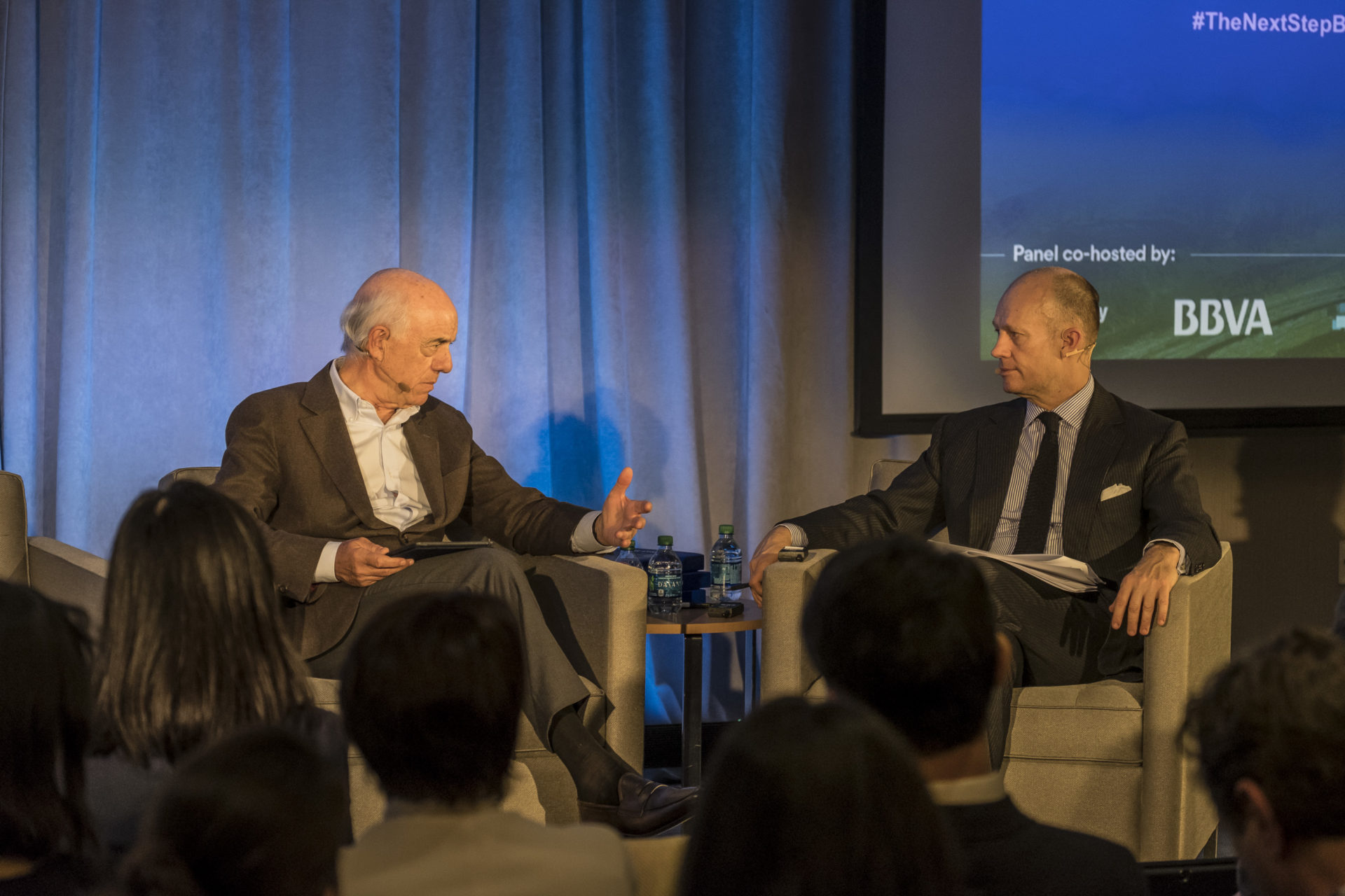 Francisco González, Group Executive Chairman of BBVA, presented the new OpenMind book at the MIT