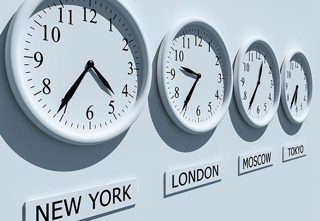 relojes del mundo