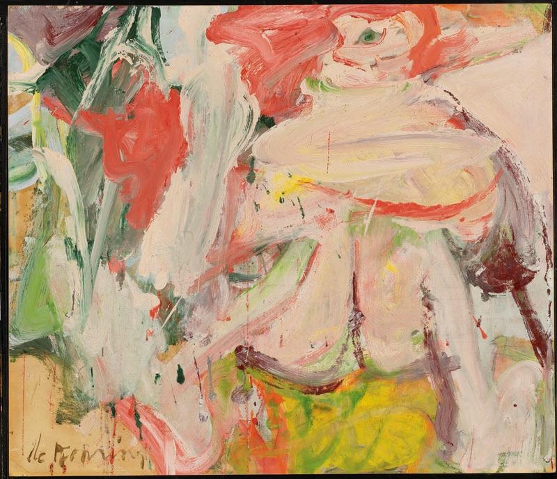 Woman in Forest_Willem De Kooning_The Willem de Kooning Foundation, Nueva York _VEGAP