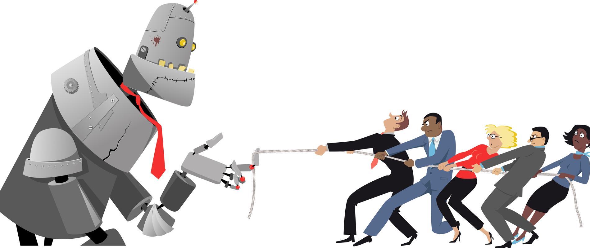 robot AI resource recurso tecnología