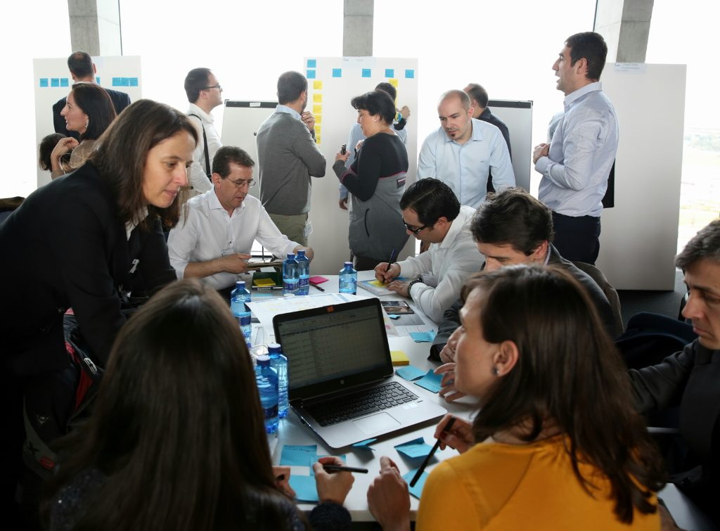 Photograph of BBVA Global Quarterly Planning March 2017