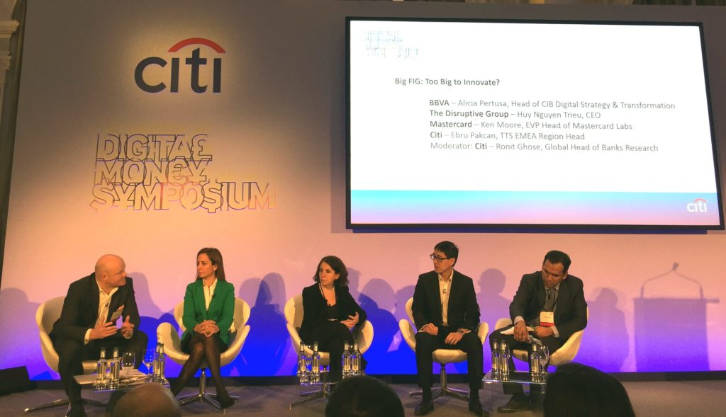citi event digital money symposium with alicia pertusa