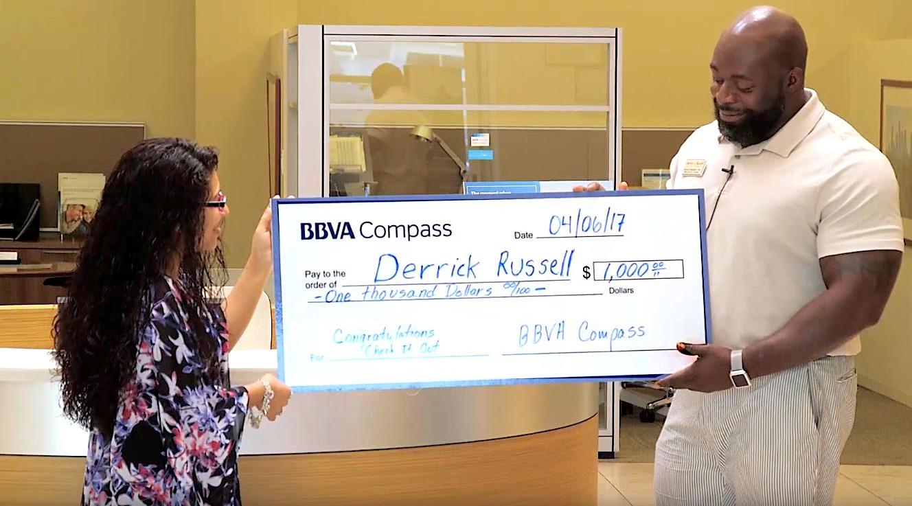 Houston client wins big in mobile deposit promotion