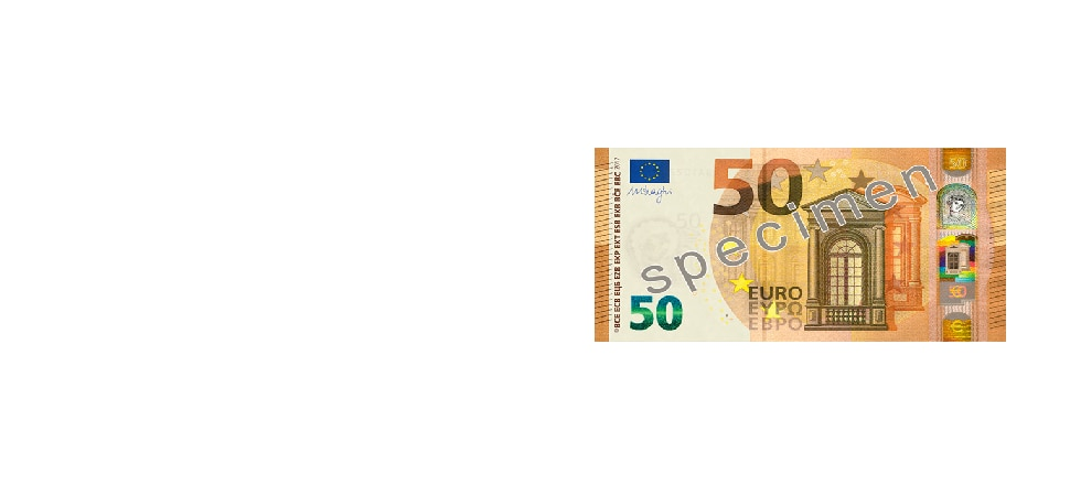new €50 banknote