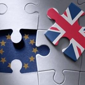 RESOURCE recurso Brexit jigsaw puzzle concept UE european england map