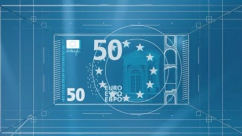 new €50 banknote video