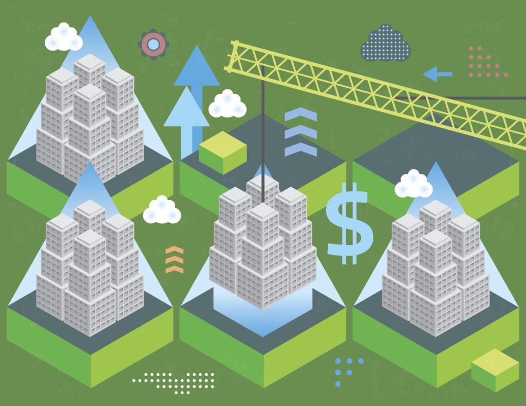 RESOURCE recurso financial grow economy dolar city Building economy sector