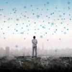 RESOURCE recurso nodes tech technology fintech innovation iot internet of things big data Enormous network.
