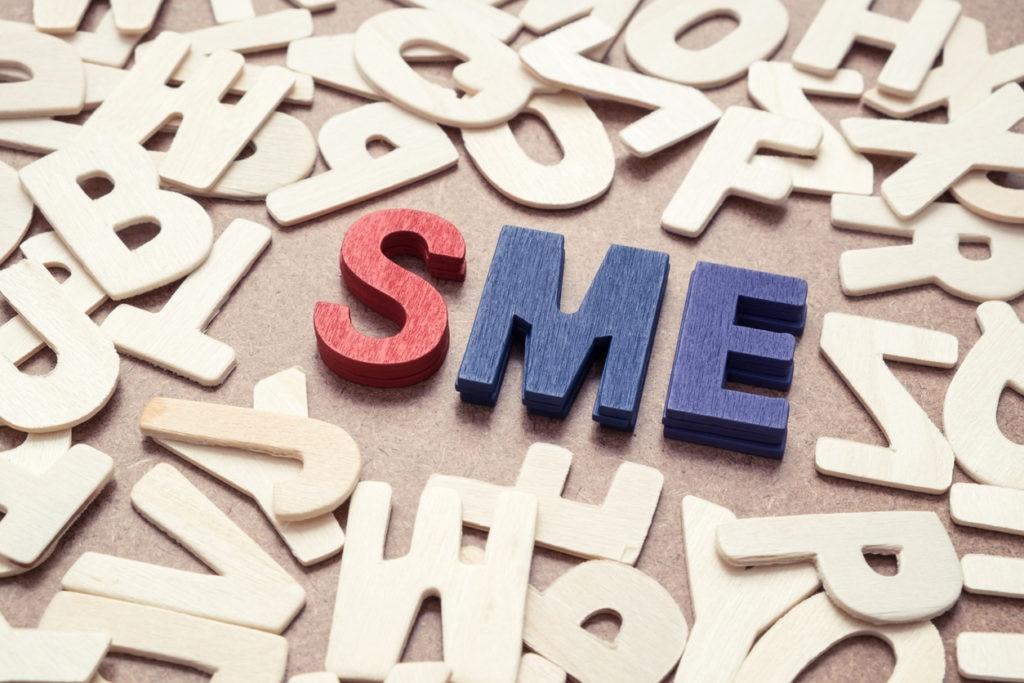 RESOURCE recurso SME - Small and Medium Exterprise wording concept startup