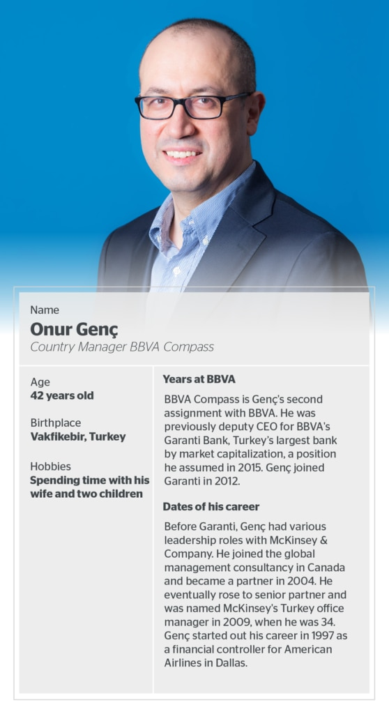 BBVA Compass President and CEO Onur Genç