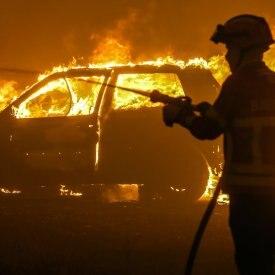 Forest fire in Pampilhosa da Serra
