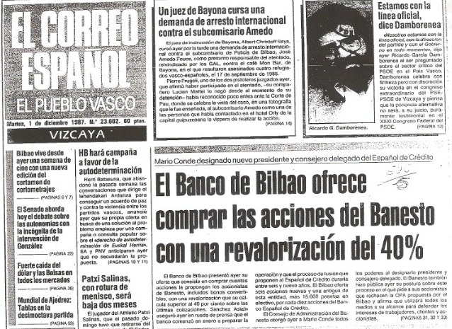 A Brief History of BBVA (XXIV): Banco de Bilbao and Banco de Vizcaya