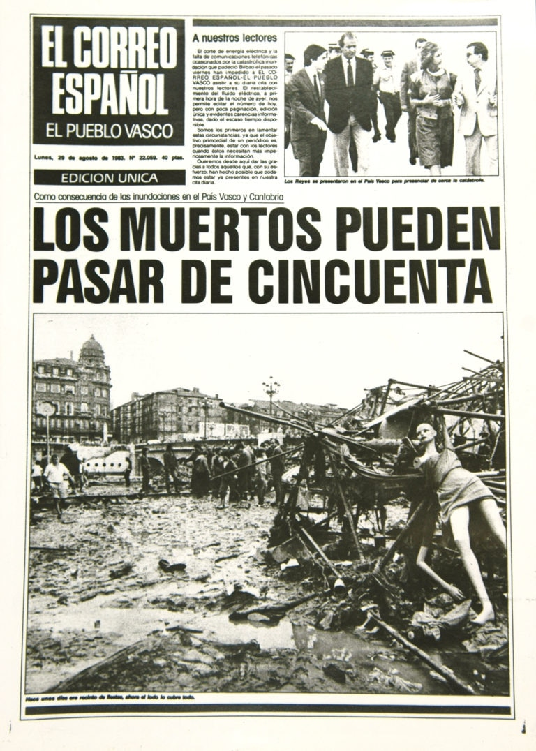 The 1983 BIlbao catastrophe