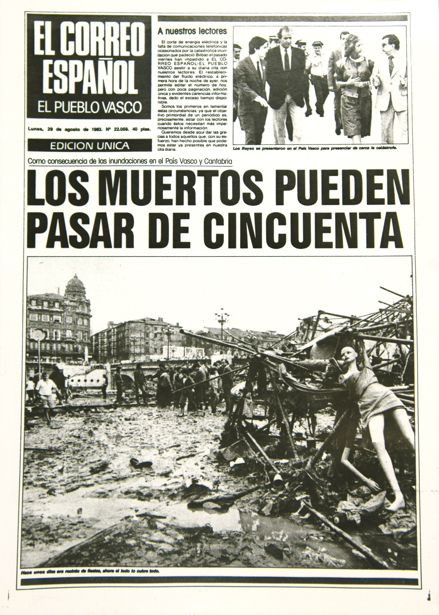 The 1983 BIlbao catastrophe