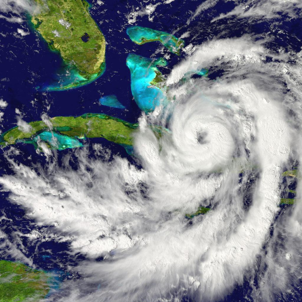 Image of a hurricane.